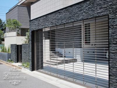 車庫 シャッター LIXIL 電動ワイドシャッターCタイプ