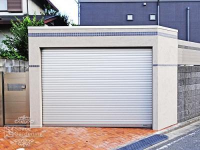 車庫 ガレージ 文化シャッター