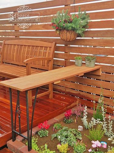 庭 テーブル