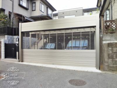 車庫 シャッター 三協立山 パレオA型