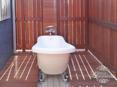 ウッドデッキ ウリン アイアンウッド 腐らない 水に強い バスタブ お風呂
