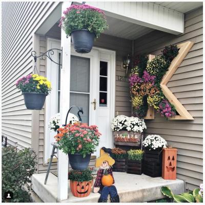 玄関周り デザイン エクステリア 花壇 花 プランター ガーデニング