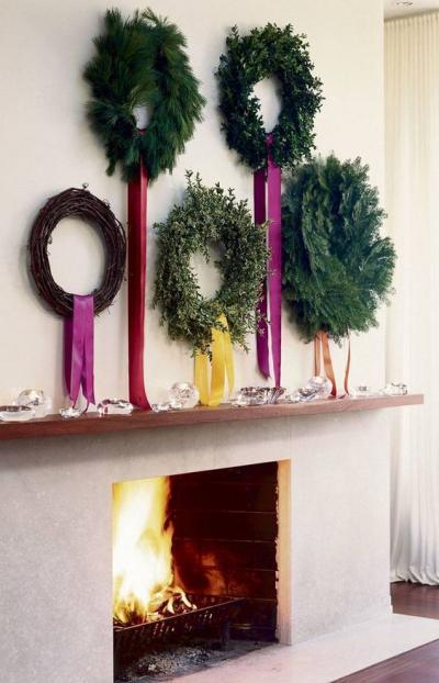 ガーデニング ガーデン デザイン おしゃれ 飾り クリスマス リース