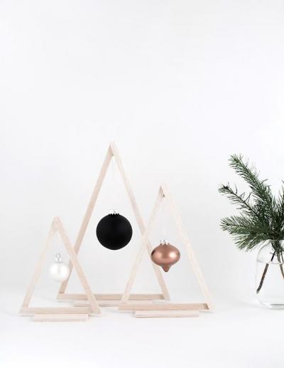 ガーデニング ガーデン デザイン おしゃれ 飾り クリスマス 木 ウッド 飾り