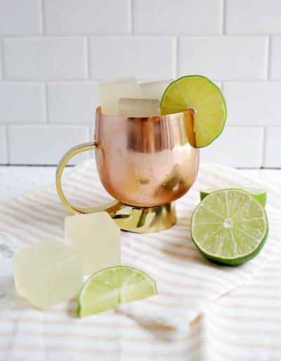 週末 パーティー レシピ お酒 ゼリー モスコミュール