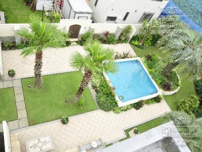 リゾート 庭 ガーデン バリ デザイン