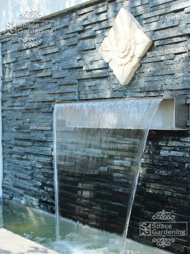 庭 リゾート 壁泉 水 池 噴水