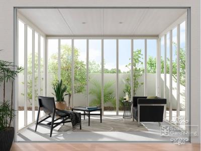 ガーデンルーム サンルーム ZIMA ジーマ 庭 リフォーム