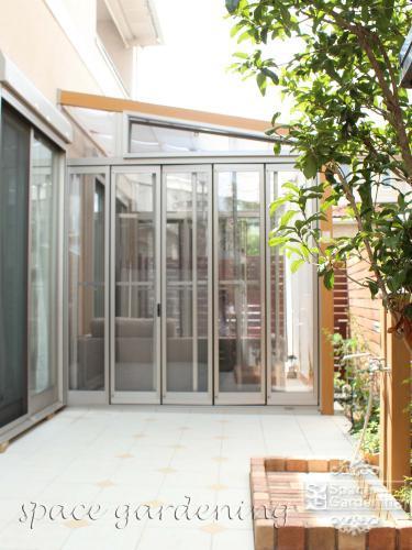 ガーデンルーム サンルーム 庭 リフォーム ココマ