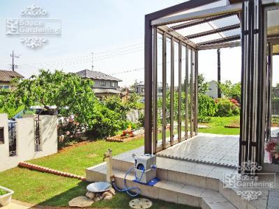 ガーデンルーム サンルーム 庭 リフォーム ジーマ リクシル