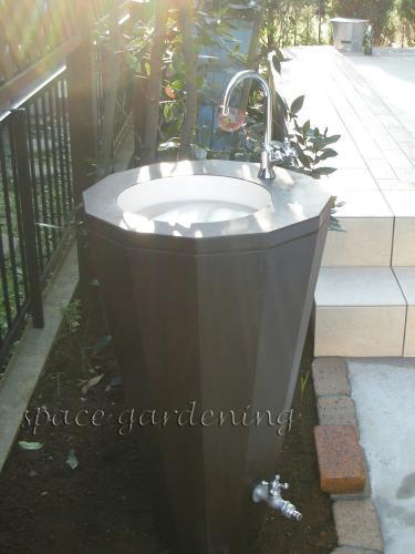 ガーデンシンク 立水栓 流し台