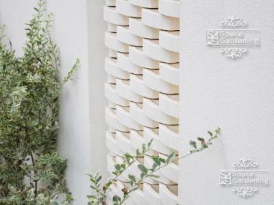 空洞ブロック 外壁 デザイン