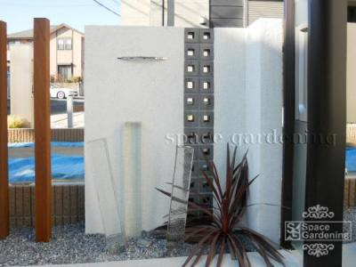 空洞ブロック デザイン 外構 塀