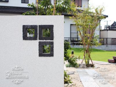 空洞ブロック デザイン 塀