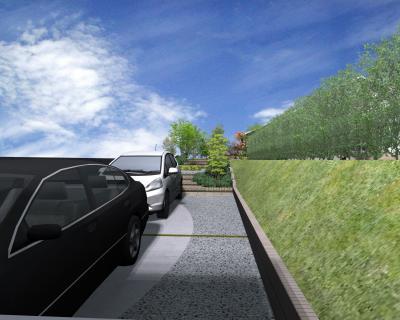 駐車場 | 2台 | 旗竿地