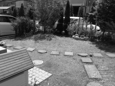 庭 | 犬 | デザイン