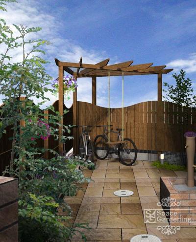 庭 | ブランコ | デザイン