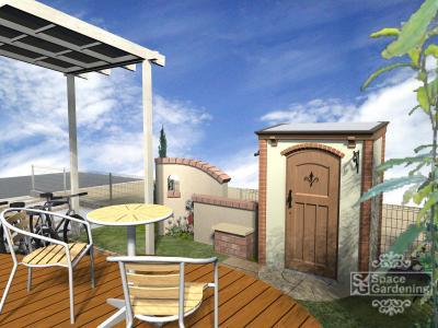 庭 | テラス屋根 | デザイン