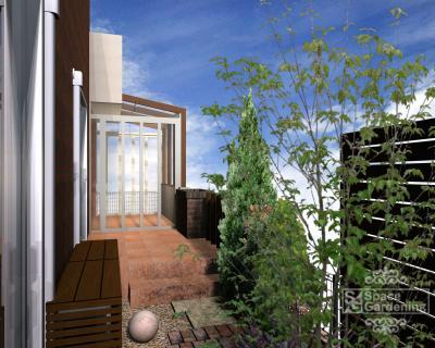 長い | 庭 | デザイン