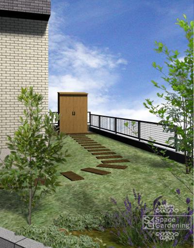 飛び石 | 枕木 | 庭デザイン