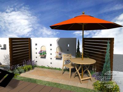 ガーデンテーブル | 庭 | デザイン