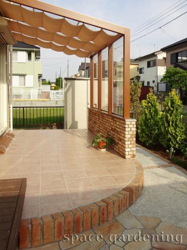 木調 テラス屋根 ガーデンルーム ココマ
