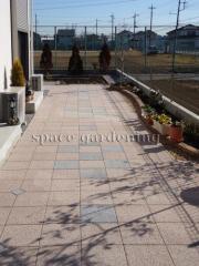 庭 テラス コンクリート平板 TOYO スーパーテラCRS