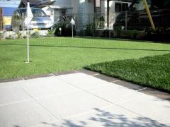 庭リフォーム 人工芝 八千代市