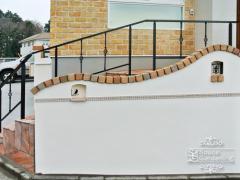 塀 塗り壁 笠木 TOYO プリウスブリック